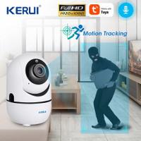 KERUI IP Camera Cam CCTV Tuya Auto Tracking Mengikuti Gerakan