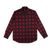 Tendencies Shirt MOOSE RED FLANEL