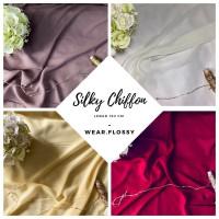 Kain Silky Chiffon/Silky Sifon Color 1 meter (Lebar 150 cm)