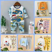piyama anak cowok / setelan piyama anak / baju tidur anak - Random Display, 55