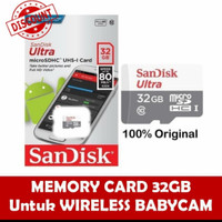 SANDISK ULTRA MICRO SD 32GB / MEMORY CARD 32 GB CLASS 10 UP TO 80Mb/S