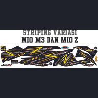 VARIASI ALL STRIPING MOTOR MIO M3 125i THAILOOK STICKER MIO Z