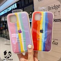 Silikon Liquid Rubber Rainbow Anti Noda iPhone 12 mini Soft Case Art