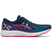Sepatu Lari Womens Original Asics Gel DS Trainer 26 Navy 1012B090401