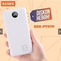 BASIKE Power Bank 20000 mAh 10000 mAh Powerbank Dual USB Murah Mini