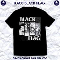 Kaos Band Black Flag. Kaos Musik Baju Band Metal Black Flag.