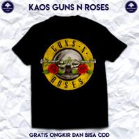 Kaos Musik Band Guns N Roses. Baju Band Guns N Roses. Kaos Distro Pria