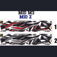STRIPING VARIASI thailook STICKER MOTOR MIO M3-MIO Z 125i ALL MATIC
