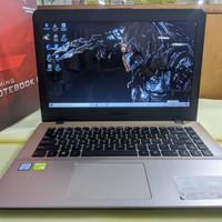 LAPTOP ASUS A442UR INTEL CORE I5-8250U RAM 4GB HDD 1TB VGA 930MX 2GB