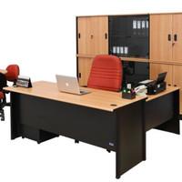 Meja kantor staff manager direktur ceo bos laci uno 160 180 cm murah
