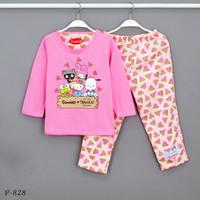 Baju Tidur Setelan Panjang Panjang Sanrio P-828 / PTP size 14-16-18