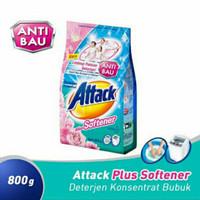 Attack softergen anti bau 800g / kao / detergen bubuk / anti noda