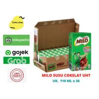 Milo UHT / susu milo cokelat ACTIV-GO ukuran 110 ML