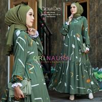 Gamis Terbaru Baju Muslim Wanita Dress Grown Momia Ori NR