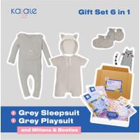 Hampers Newborn / Kado Lahiran Bayi - Grey Kitty Edition - Kalale - Set C