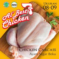 Ayam Broiler Karkas 08 - 09 Whole Chicken Carcass Al Best Chicken