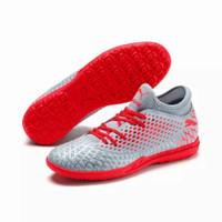 Sepatu Futsal PUMA FUTURE 4.4 TT Glacial Blue-Nrgy Red 105690 01