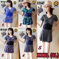 Baju renang wanita Big Size, BRD148T size XXXL (4L)