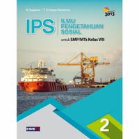 IPS Terpadu SMP Kelas 8 - Buku Erlangga Original