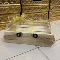 Keranjang Hantaran Bambu kue ukuran 25x25