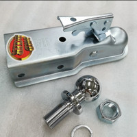 Coupler Trailer Anhang Set Hitch Ball 2 Inch Bola Towing