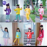 setelan baju anak wanita long jovanka usia 2-8 tahun