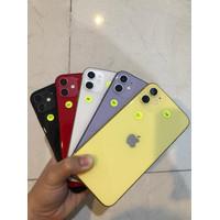 Iphone 11 128gb Second seken Mulus Fullset / Batangan - Black, Fullset