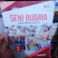 buku seni budaya untuk SMP kelas 7 K 2013 Erlangga