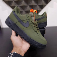 Sepatu Nike aor force 1 low medium olive