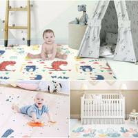 Playmate baby/Tikar lipat bayi/Matras bayi LOKAL FREE TAS