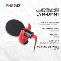 Microphone LENSGO Cardioid Microphone LYM-DMM1
