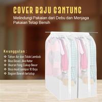 Cover Baju Anti Debu Waterproof- Pelindung Pakaian Gantung