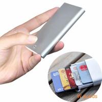Xiaomi MIIIW Dompet Kartu Premium Card Case Automatic Aluminium