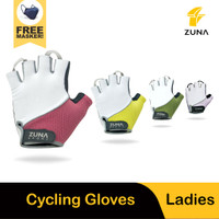 Ladies Classic Simple Cycling Gloves Zuna Sport