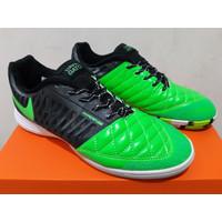 Sepatu Futsal - Nike Lunar Gato II Green Black White