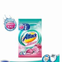 Kao Attack Detergent Powder Plus Softener 800Gram