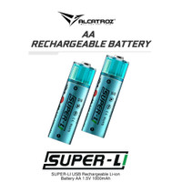 Super L Rechargeable Li-on Battery AA-1000mAh / AAA-400mAh
