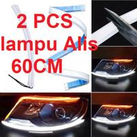 Lampu Alis LED Drl Lampu Runing Turning Led Headlamp Mobil Lampu Depan