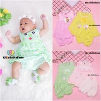(BUY 1 GET 1) Setelan Bayi 0-12 Bulan / Anak Perempuan Baju Lengan