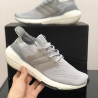Sepatu Adidas Ultra Boost 2021 Grey White