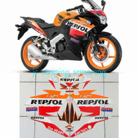 Striping Honda CBR th 2012 Cbu Repsol 150