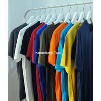 Kaos Polos Katun Bambu [Cotton Bamboo] Size S-XXL [PART-2]