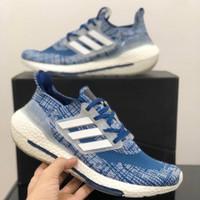 Sepatu Sneakers Adidas Ultra Boost 2021 Navy White Women