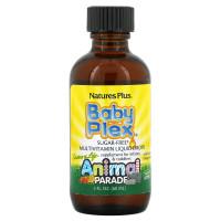 NATURE'S PLUS ANIMAL PARADE BABY PLEX MULTIVITAMIN LIQUID DROPS 60 ml