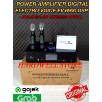 Power Amplifier EV 6900 DSP Original Electro Voice Include 2 Mic