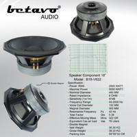 SPEAKER KOMPONEN BETAVO B18-V622 18 INCH PROFESSIONAL AUDIO