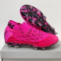 Sepatu Bola Puma Future 5.1 Netfit Pink Fg