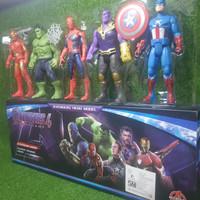 mainan figure avengers robot figur avenger captain amerika iron man