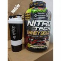 Muscletech nitrotech whey gold 5.59 lbs d