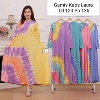 GAMIS KAOS | LAURA LD ±120 CM (4S)
